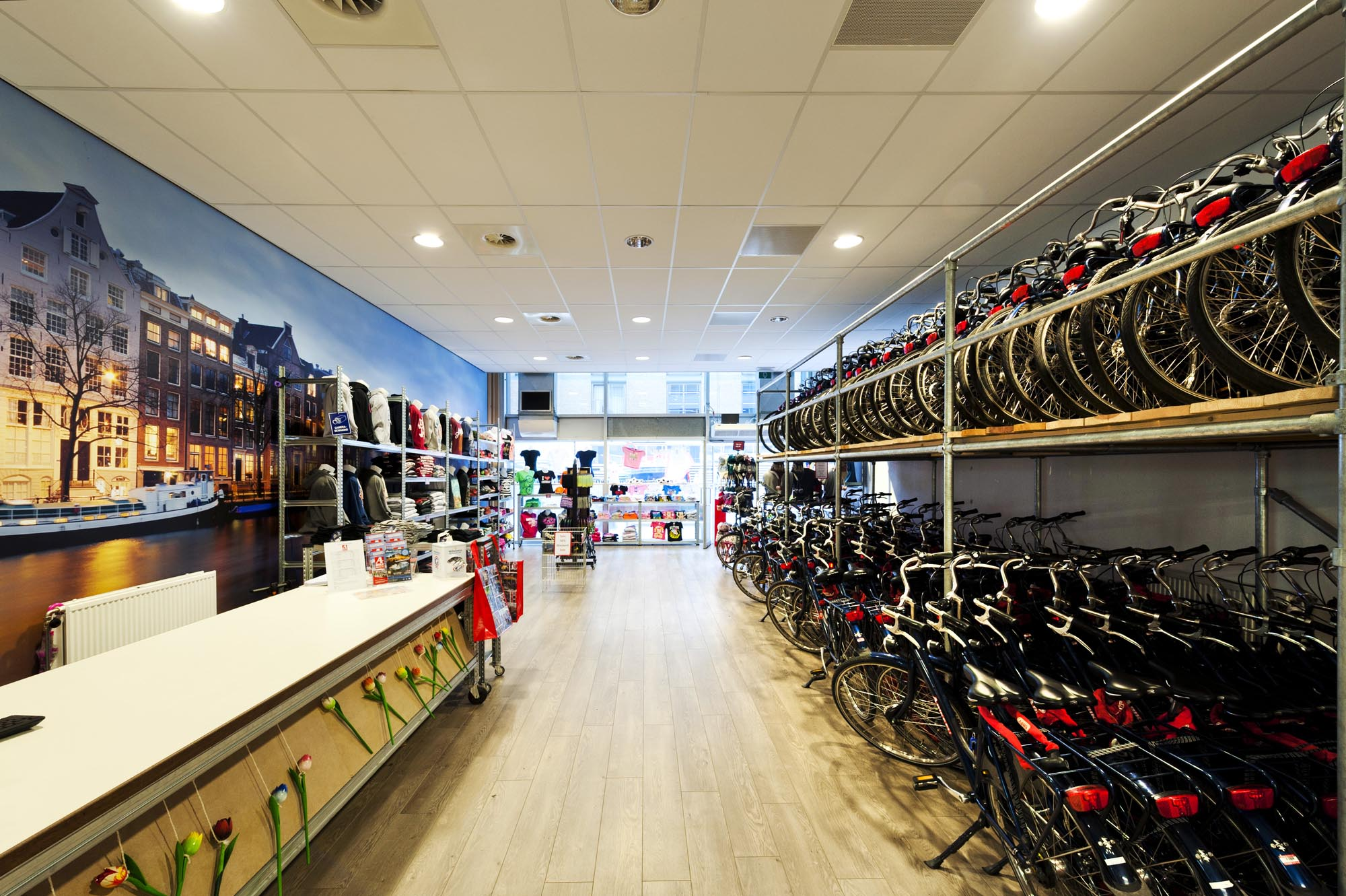 Bike rental Amsterdam Shop